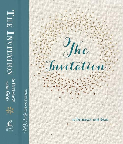 The Invitation to Intimacy with God - Daily Devotional