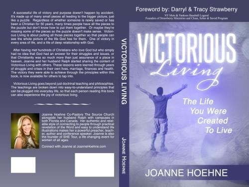 Victorious Living Book by Joanne Hoehne