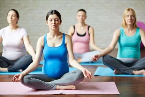 Pregnancy Yoga 90 minutes: Wednesdays 7pm-8.30pm - 6 week Course