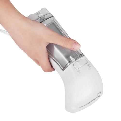 Charmax スチームアイロン 衣類スチーマー 30秒超高速立ち上がり ハイパワー ハンディースチーマー 10分連続使用可能 ポータブルアイロンスチーマー 水漏れ防止 しわ取り 小型軽量ミニアイロン