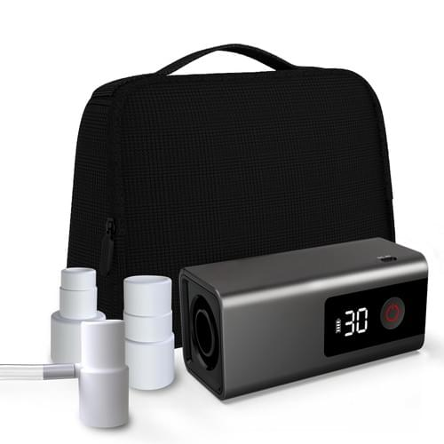 LEEL O3 CPAP Cleaner With Heated Hose Adapters Package