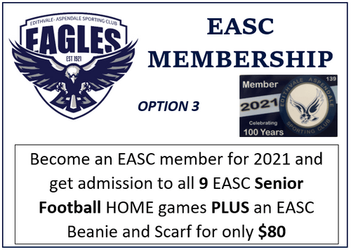 2021 Club Membership with Club Beanie & Club Scarf