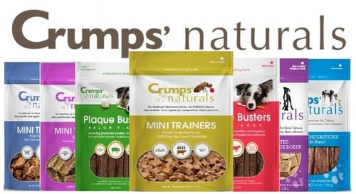 Crumps'  Naturals - Treats - Mini Trainers - Plaque Busters Variety
