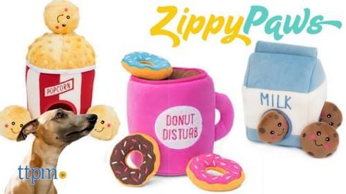 Zippy Paws Boredom Buster Squeaky Burrow Dog Toys Variety