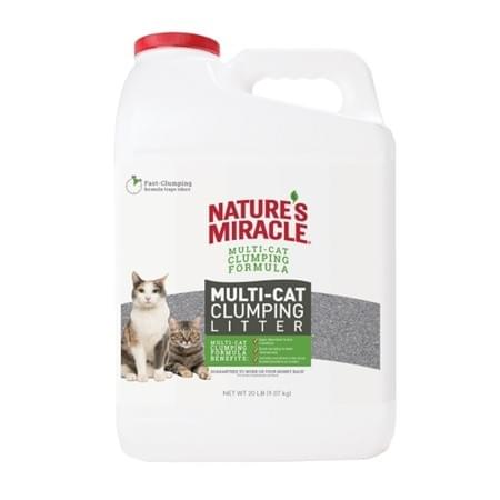 Nature's Miracle Multi-Cat Clumping Clay Litter 20 Lb