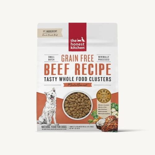 The Honest Kitchen Dehydrated Beef Clusters