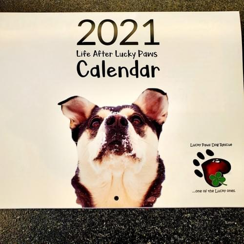 Life After Lucky Paws Calendar 2021