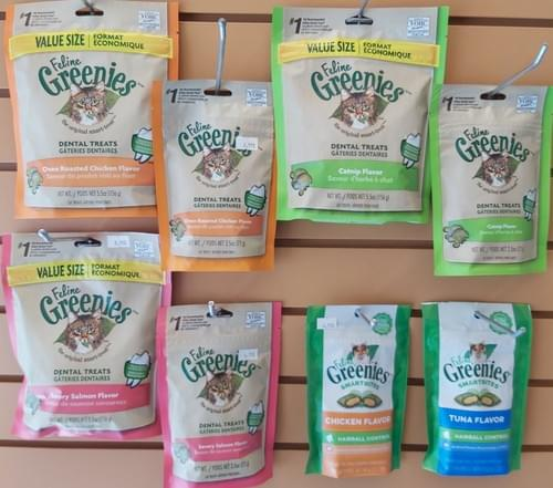 Greenies Dental and Hairball Control Variety