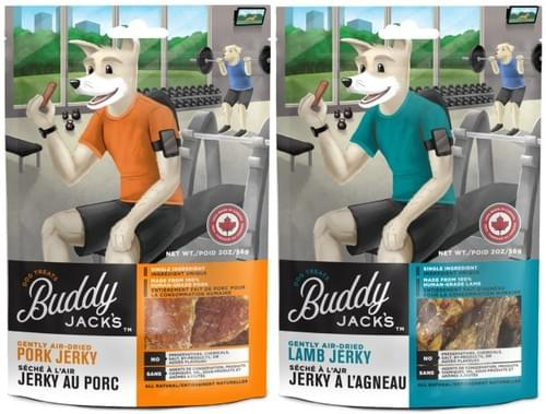 Buddy Jacks Pork and Lamb Jerky 56g / 2oz