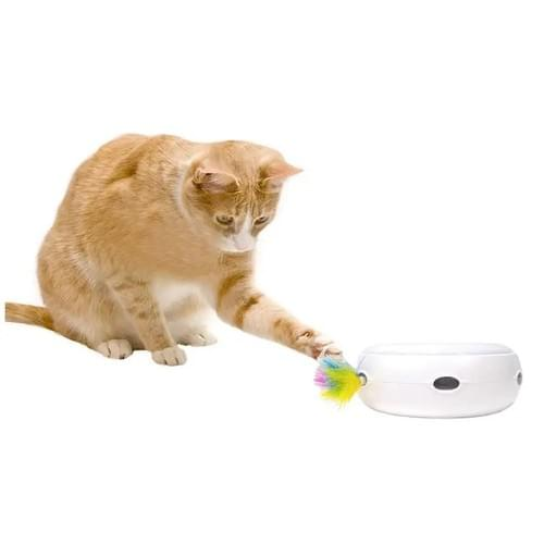 Automatic Electronic Motion Toy with Feathers