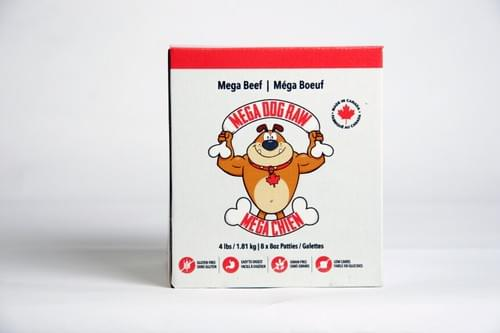 Mega Dog by Bold Raw Patties 4Lb to 24Lb Variety of Flavours