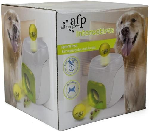 All For Paws Interactives Fetch'N Treat Dog Toy
