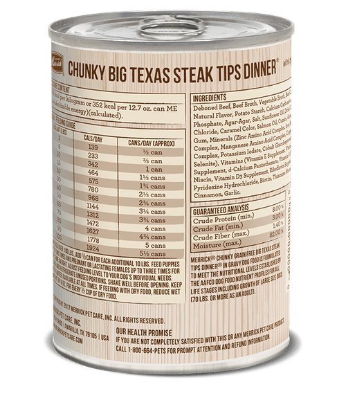 Merrick Chunky Style Stews      Variety of Flavours    12.7oz Cans