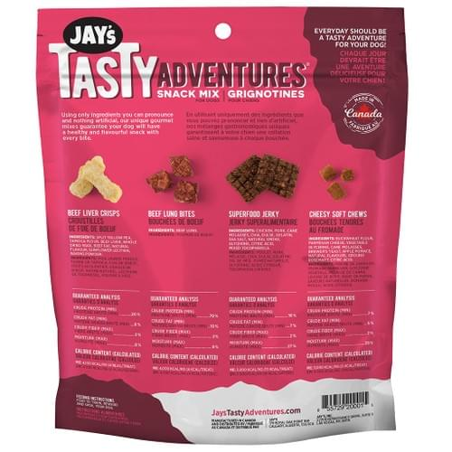 Jay's Tasty Adventures     Cheesy Beef Snack Mix