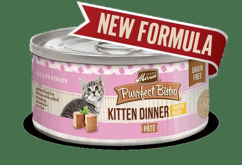Purrfect Bistro Kitten Dinner 3oz (Paté)