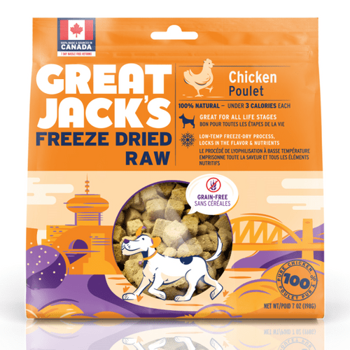 Great Jack's freeze-dried Chicken