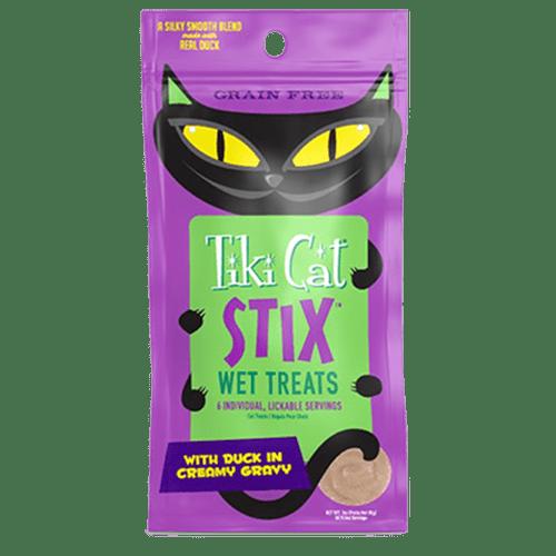 Tiki Cat Stix Wet Treats     Duck in Creamy Gravy 3oz (6 x 3oz)
