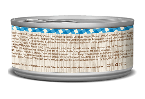 Purrfect Bistro Grain Free      Variety of Flavors     (Paté) 5.5oz Cans
