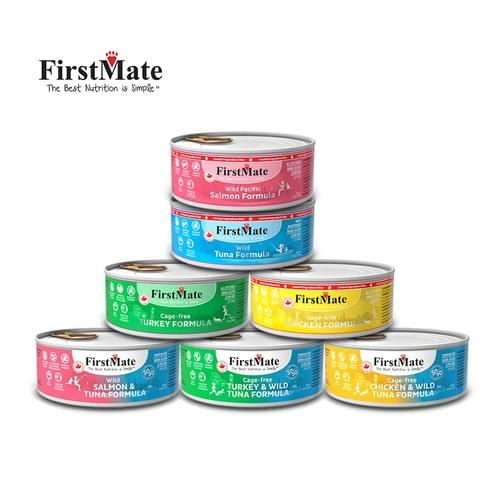 First Mate Grain Free & LID Pate Varieties 5.5oz