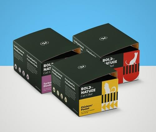 Bold By Nature Raw Cat Food - Variety of Flavours