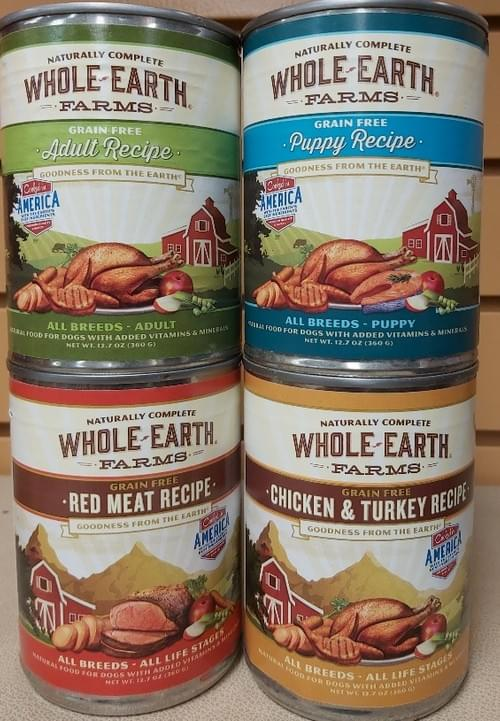 Whole Earth Farms (Paté)   Variety of Flavours 12.7oz Cans