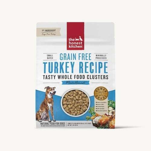 The Honest Kitchen Dehydrated Turkey Clusters