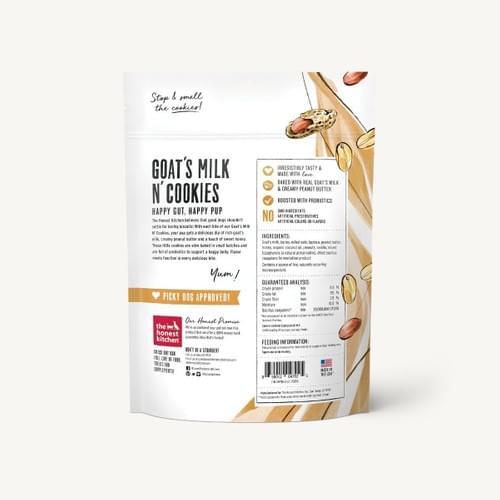 Goats Milk 'N' Cookies Peanut Butter & Honey