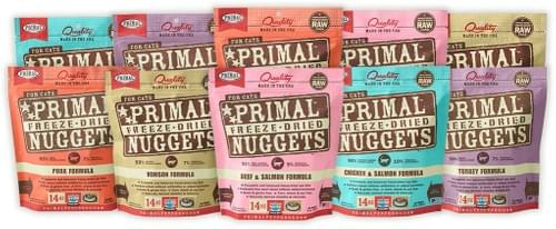 Primal Feline Freeze-Dried Variety of Flavours