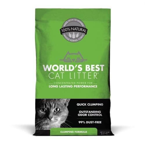 Worlds's Best Clumping Cat Litter (Maize)