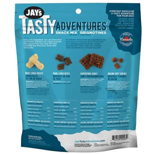 Jay's Tasty Adventures     Beef N' Bacon Snack Mix