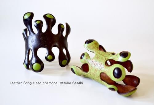 bangle big seaweed black