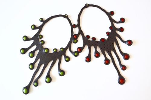 necklace Tako green