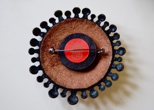 small brooch Marimo 7cm