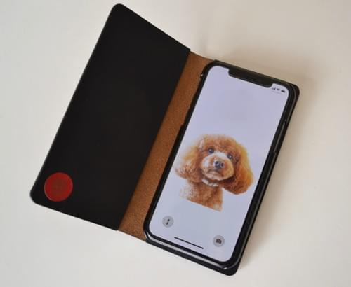 Leather iPhone X case *egg Limited edition