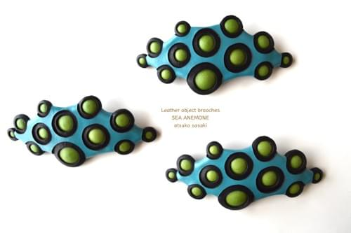 sea slug brooch