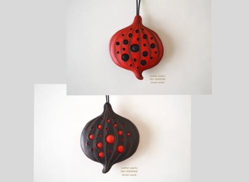 Reversible Necklace *Italian red & black