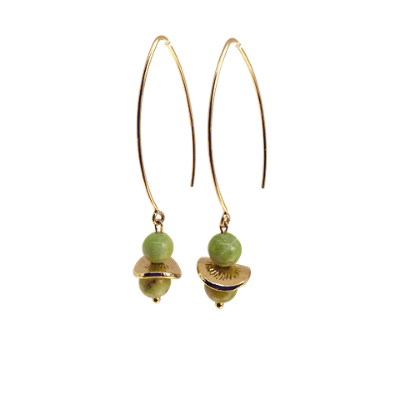Drop Earrings Olivine