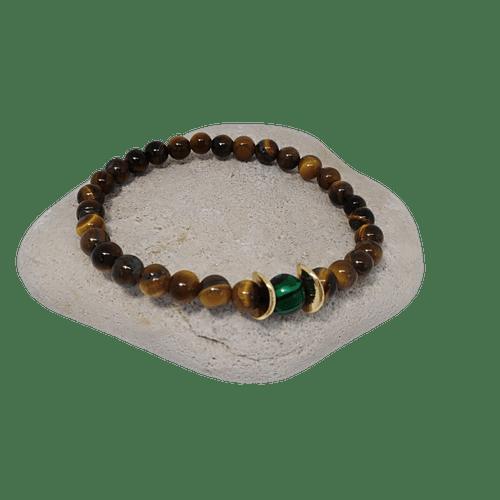 Unisex Tiger Eye Bracelet