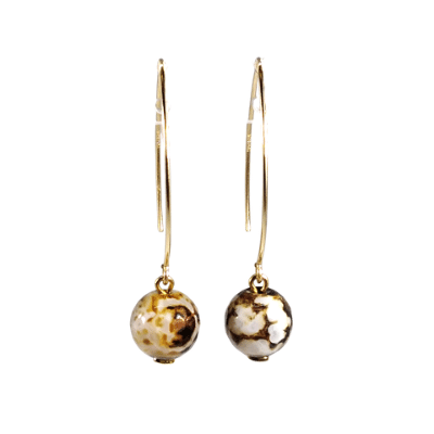 Drop Gold Earrings