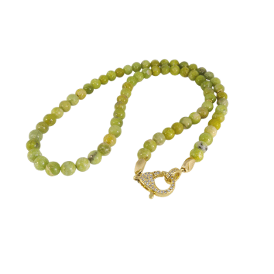 Necklace Peridot/ Olivine GON 211