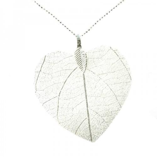 Necklace Leaf Pendant