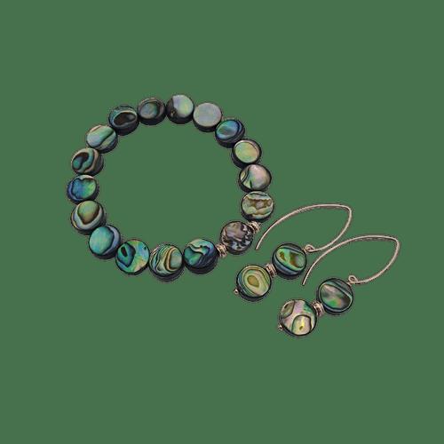 Bracelet & Drop Earring Set