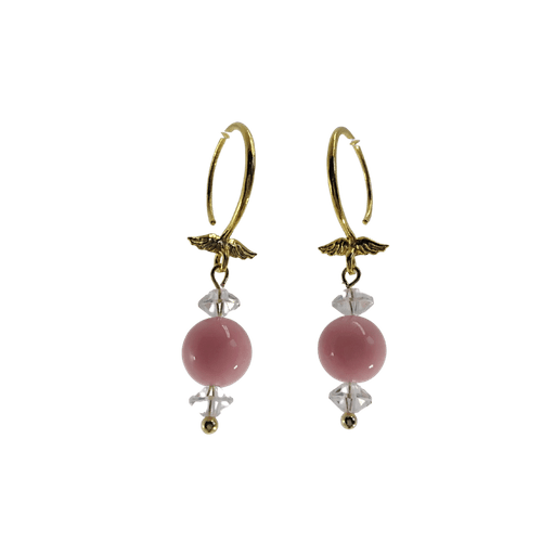 Earring Pink Coral