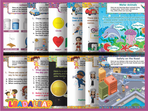 LEADALEAP CHARTS 2 COLLECTIONS - 27 PCS