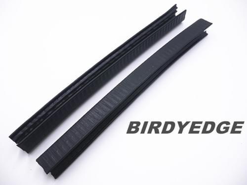 BIRDYEDGE 訂製鐵片 橡膠防撞條 一組(兩條)