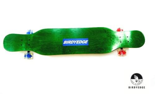 楓木藍色BIRDYEDGE 跳舞長板 46吋