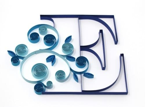 Letter E - Personalized Gift For Him - Personalized Gift For Her - 1st Anniversary Gift for Couple