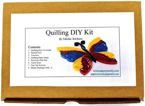 Basic DIY Quilling Kit - Beginners Kit For Quilling - DIY Kits 1