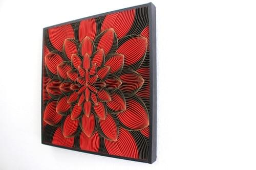 Bloom Series Abstract Paper Quilling Art Work