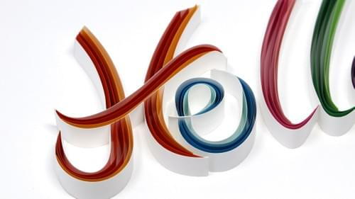 Hella Paper Quilling Art Work - One Year Anniversary Gift - Mothers Day Gift - Paper Quilled Art